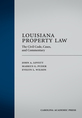 Louisiana Property Law jacket