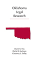 Oklahoma Legal Research jacket