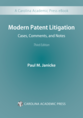 Modern Patent Litigation jacket