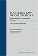 Louisiana Law of Obligations jacket