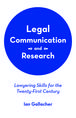 Legal Communication and Research jacket