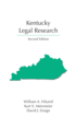 Kentucky Legal Research jacket