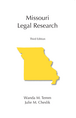 Missouri Legal Research jacket