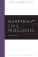 Mastering Civil Procedure jacket