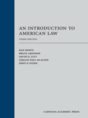 An Introduction to American Law jacket