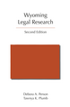 Wyoming Legal Research, Second Edition