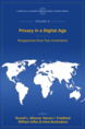 Privacy in a Digital Age, The Global Papers Series, Volume IV