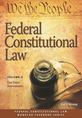 Federal Constitutional Law (Volume 6) jacket