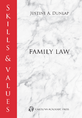 Skills & Values: Family Law jacket