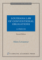 Louisiana Law of Conventional Obligations, A Précis jacket