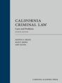 California Criminal Law jacket