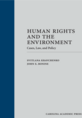 Human Rights and the Environment jacket